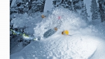 skier: Todd Avison * Photographed by: Geoff Holman * snow: Selkirk Wilderness Skiing