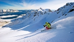 photo: Sverre Hjornevik; skier: Torkel Karoliusen; snow: Lofoten Islands, Norway