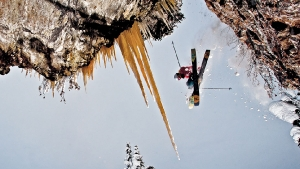 photo: Blake Jorgenson; skier: Dan Treadway; snow: Revelstoke BC