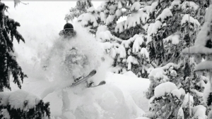 photo: Mason Mashon; skier: Joe Schuster; snow: Whistler backcountry