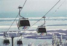 Ski lift in Quebec