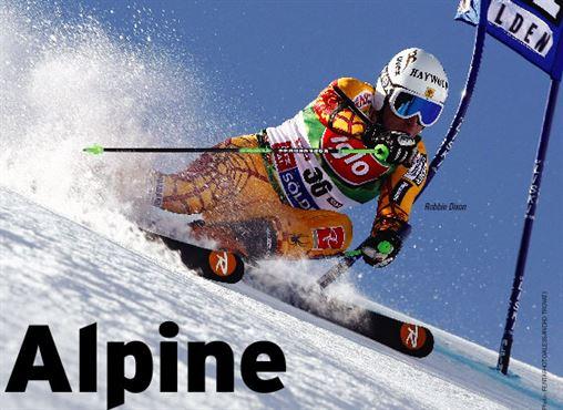 Alpine header, Robbie Dixon