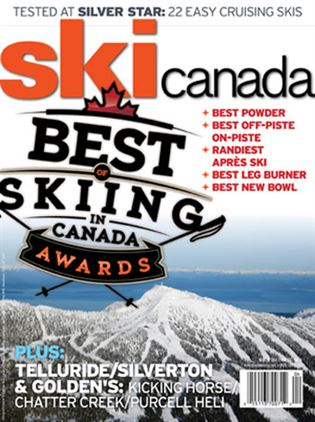 Cover of Winter 2011 Best of Skiing Issue