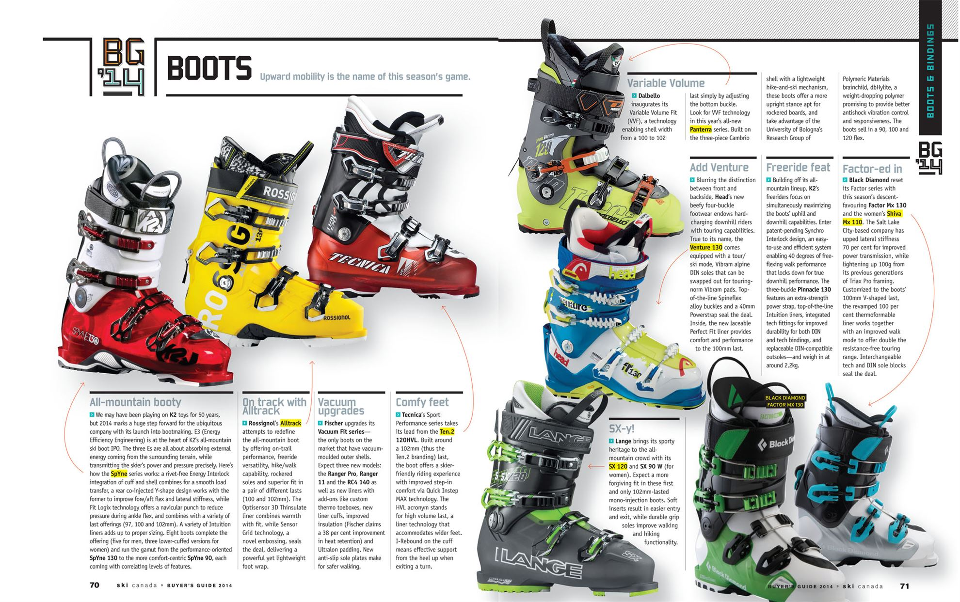 salomon x pro 130 ski boot 2013 14 | Becky (Chain Reaction
