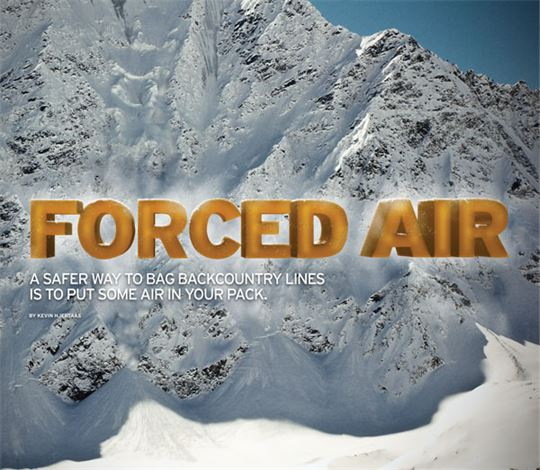 Forced Air - avalanche airbags