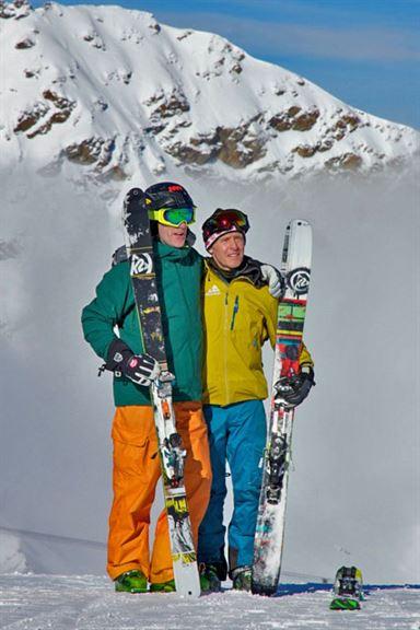 Ron & Iain @ St. Moritz