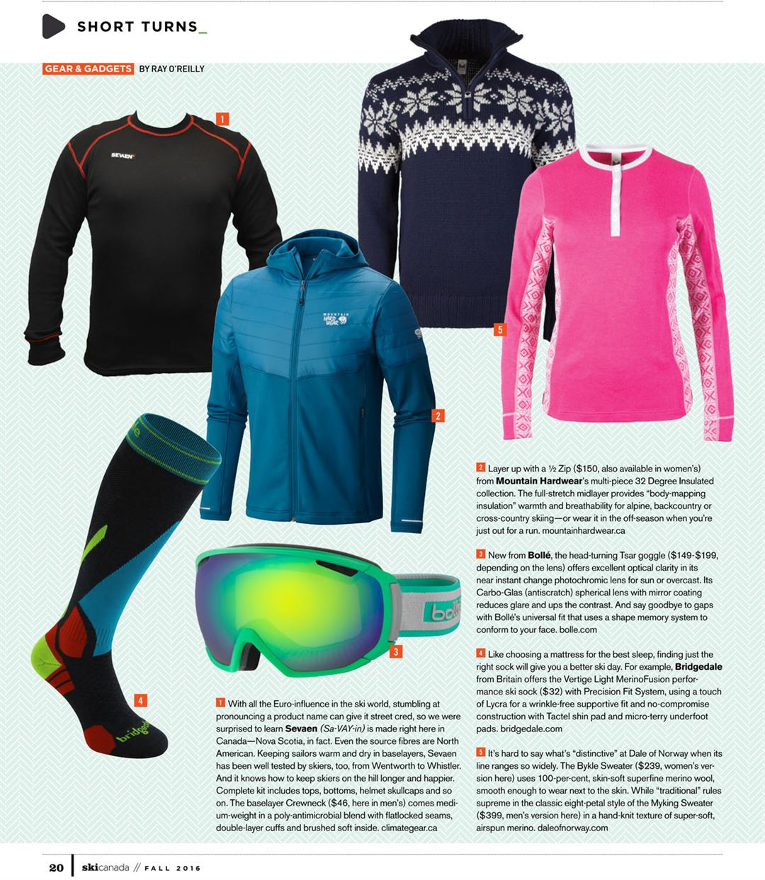 Dale of Norway ⋆ Ski Canada Magazine