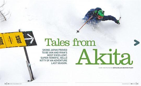 Tales from Akita