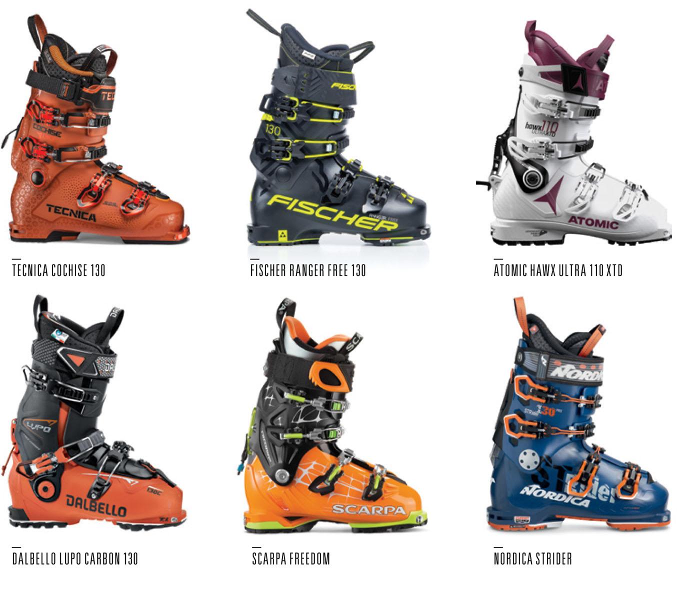 Alpine Ski Boots For Walking/ Ski Canada Magazine