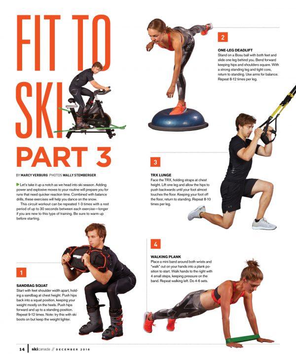 Fit to Ski - part 3/ Ski Canada Magazine