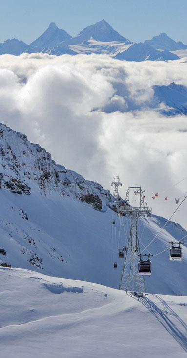 Crans-Montana lifts