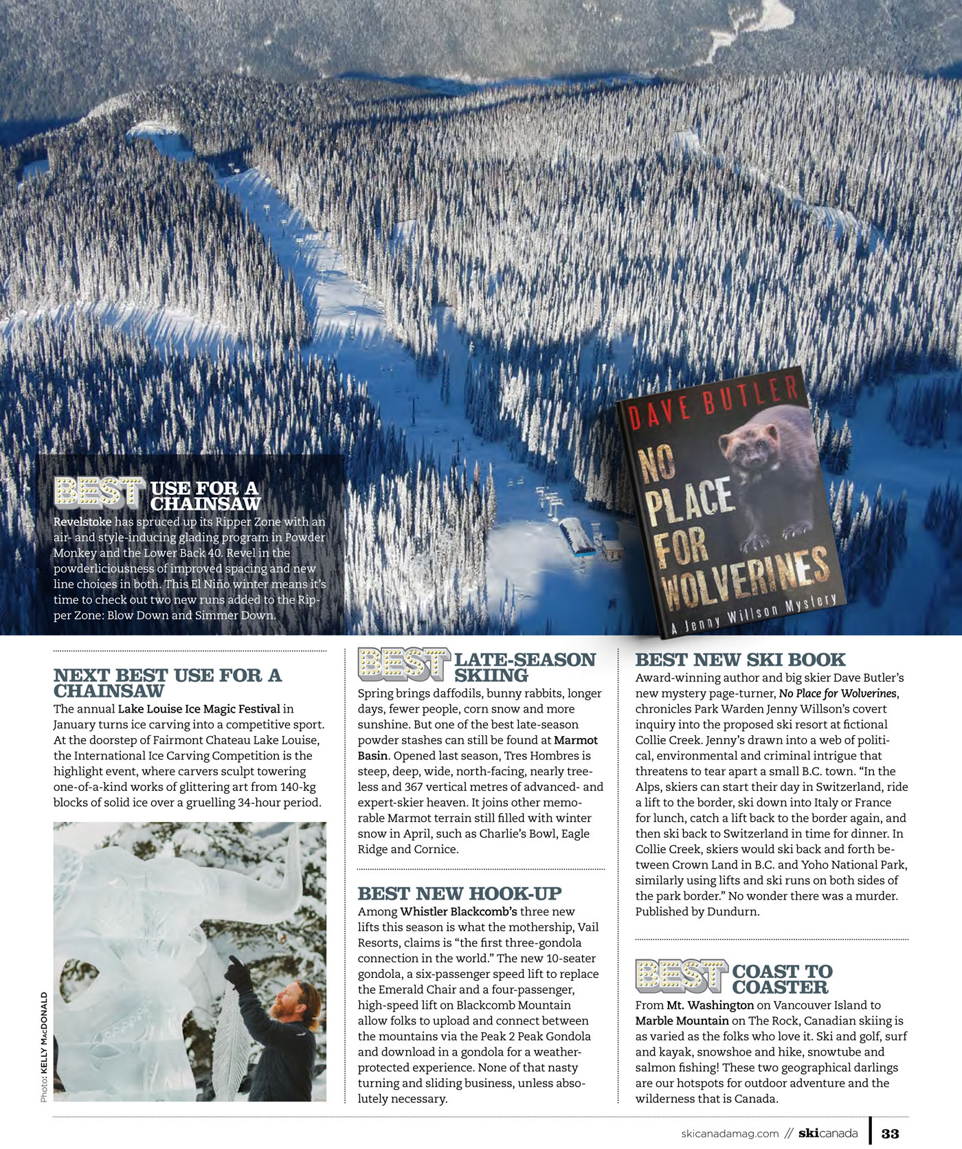 Best of Skiing 2019/ Ski Canada Magazine