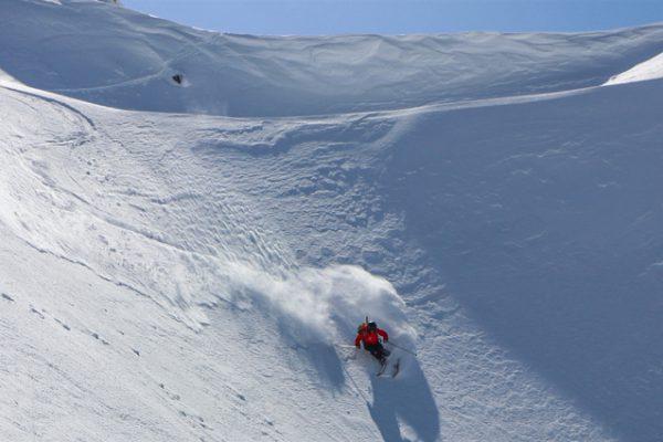 hands ski instruction